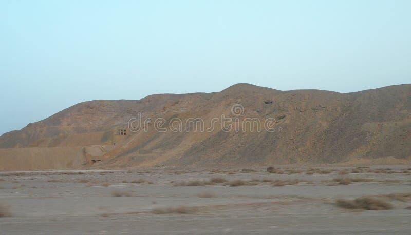 Arabian desert, Africa royalty free stock photo
