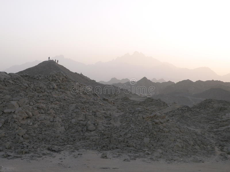 Arabian desert royalty free stock photo