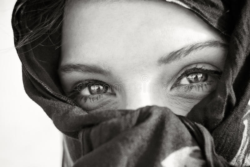 Download Arabian Eye Closeup Stock Photo - Image: 32171620