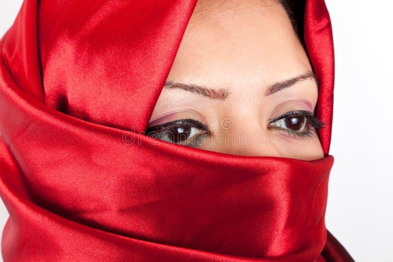Download Arabian Girl Eyes stock photo. Image of indoors, hijab - 26021364