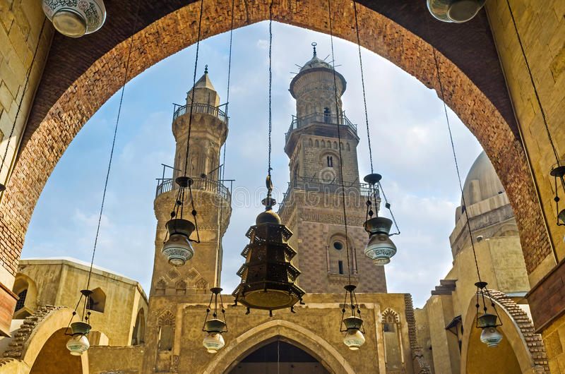 The arabian lights royalty free stock images