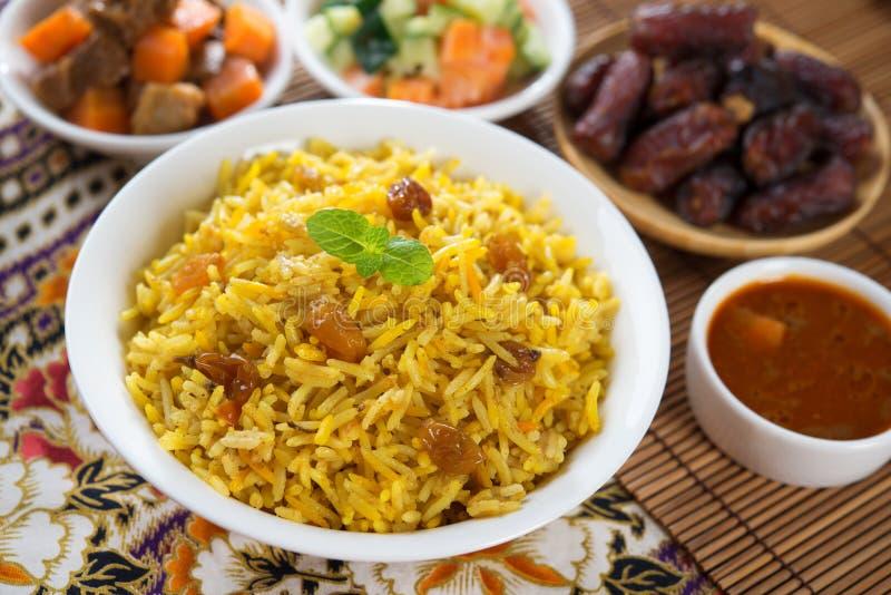 Arabian rice royalty free stock photo