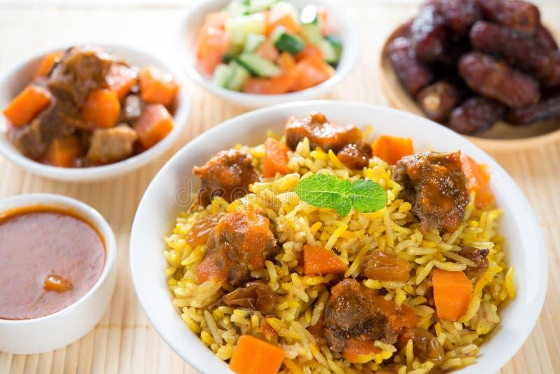 Arabian Rice Stock Photo