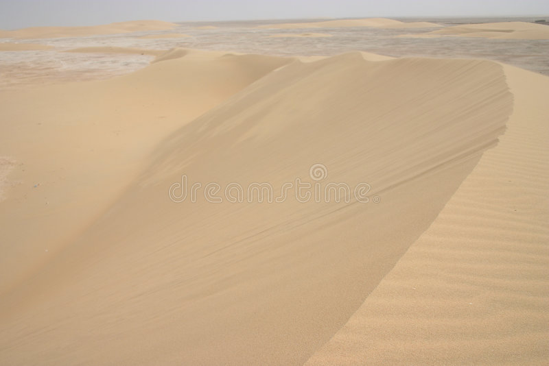 Arabian sandstorm royalty free stock photography