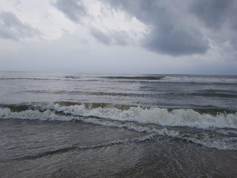 Arabian Sea Kerala arkivbilder