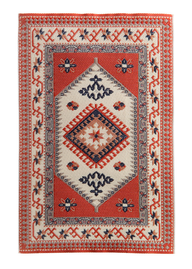Arabian Silk Carpet Royalty Free Stock Images