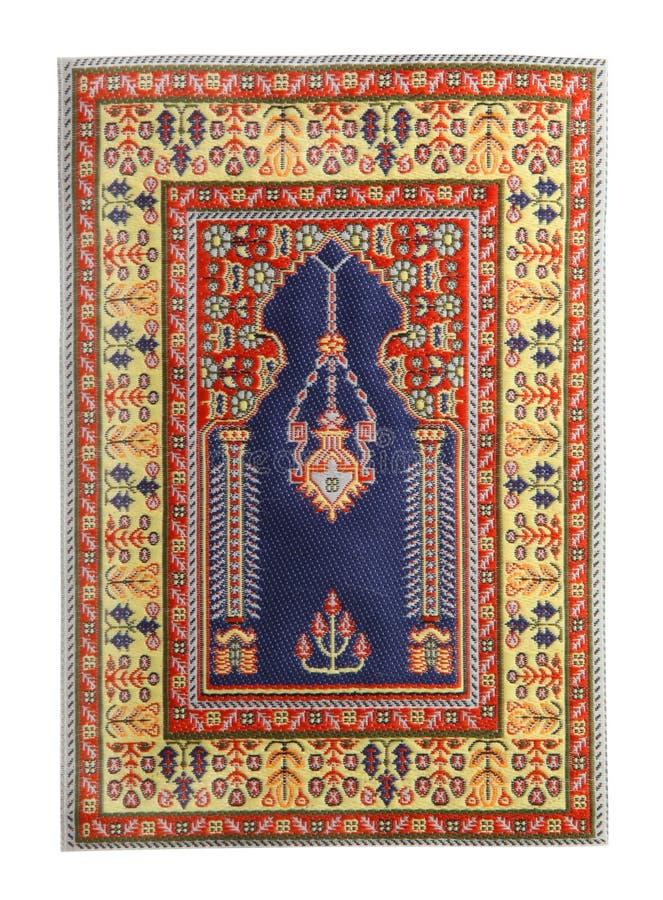 Arabian silk carpet stock photo