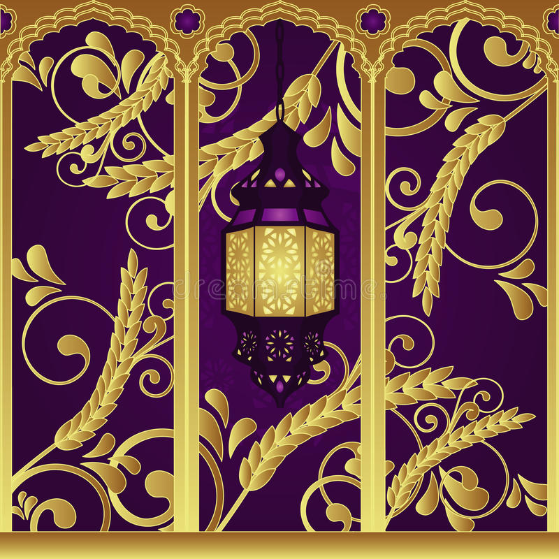 Arabian Style Luxury Lamp Royalty Free Stock Image