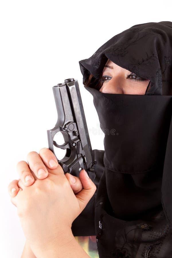 Download Arabian Terrorism stock photo. Image of niqab, nikab - 26021702
