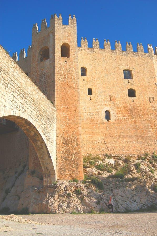 Arabic castle royalty free stock photo