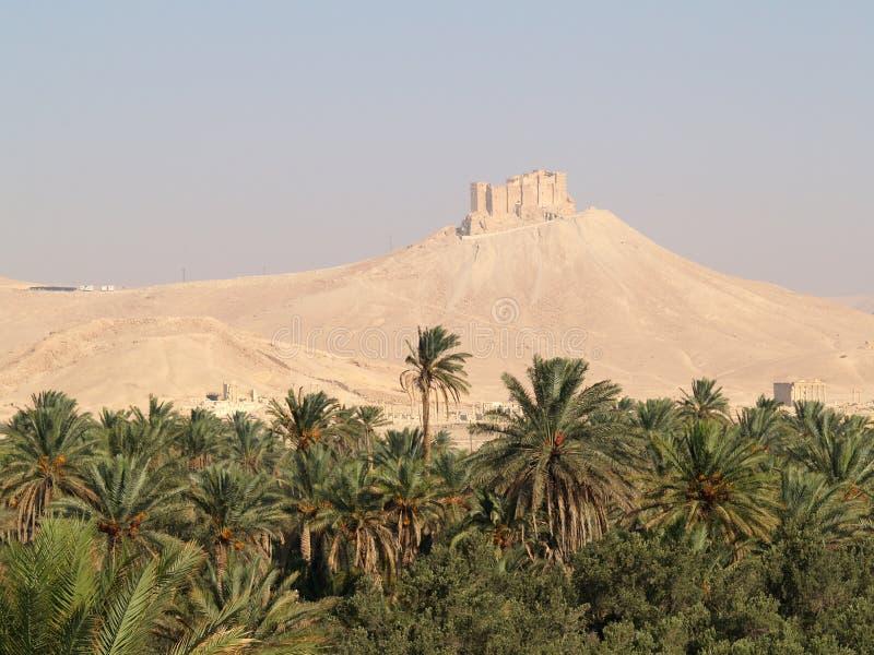 Arabic castle stock photos