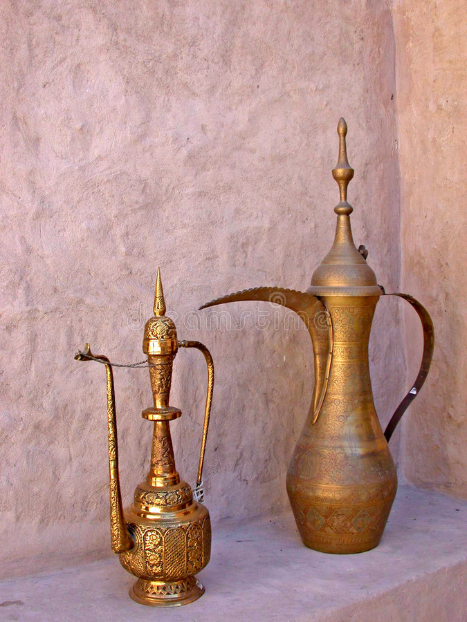 Free Arabic Coffee Pot Stock Photos - 1276913
