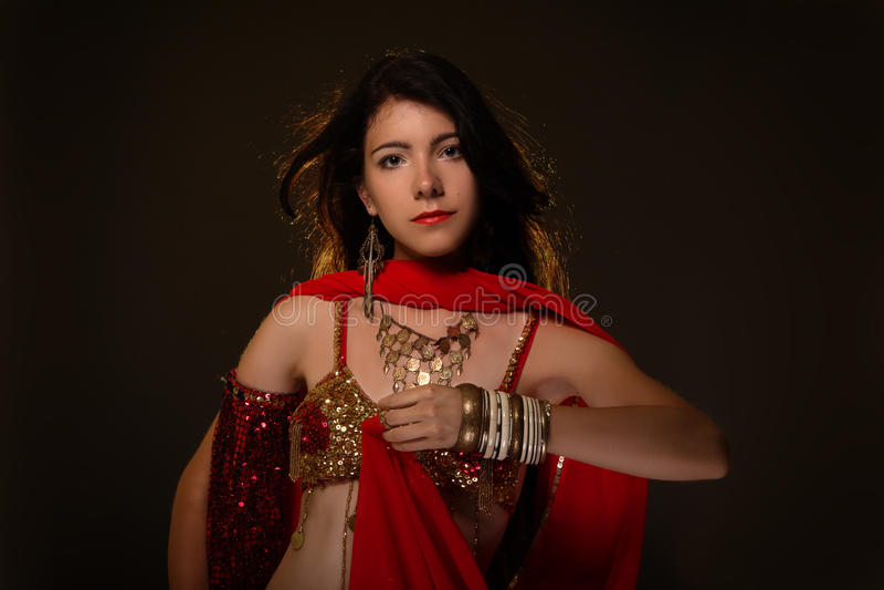 Arabic dance royalty free stock photography