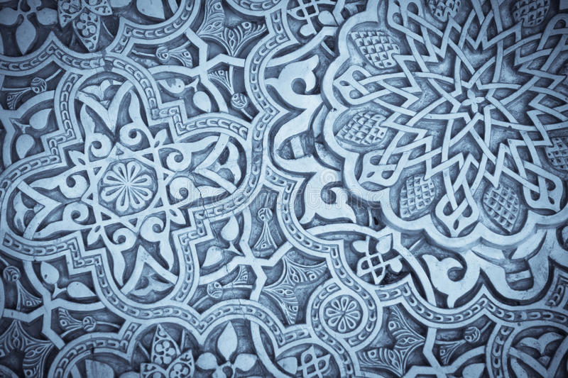 Arabic decorations detail stock images