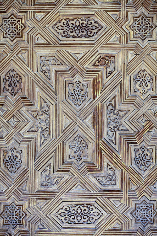 Arabic decorations detail royalty free stock image