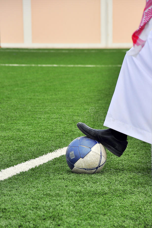 Arabic Football Royalty Free Stock Image