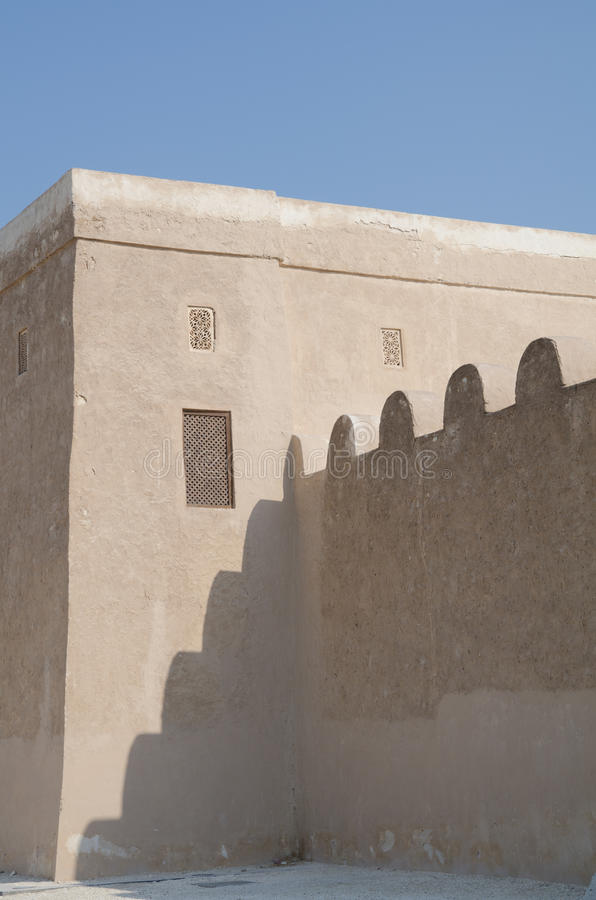 Download Arabic fort stock image. Image of send, mudwall, culture - 24090375