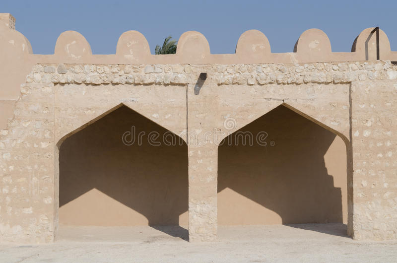 Arabic fort details royalty free stock photography