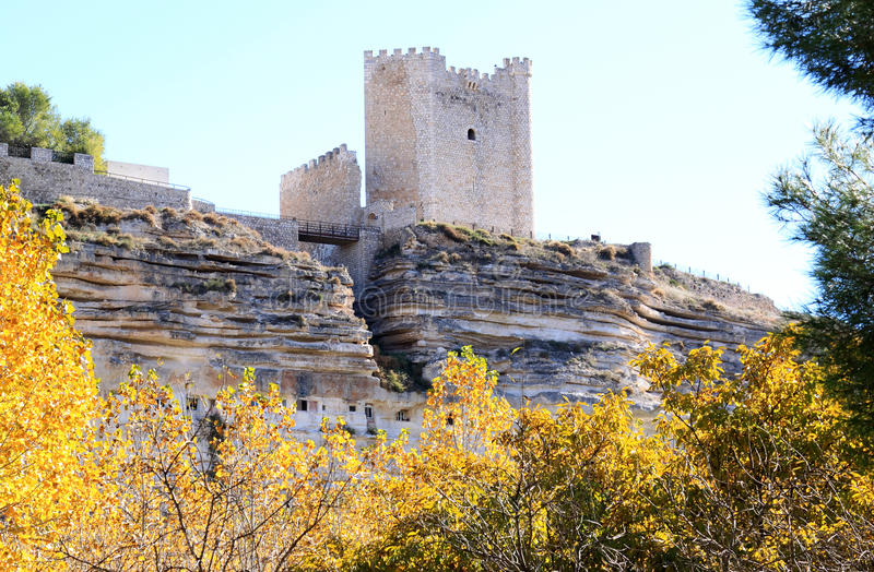 Download Arabic Fortress At Rocks, Alcala Del Jucar, Spain Stock Image - Image: 24495779