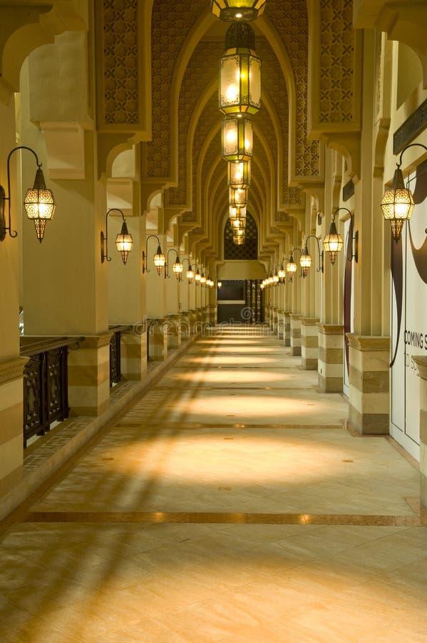 Download Arabic Hallway stock photo. Image of souk, hall, gold - 28938440