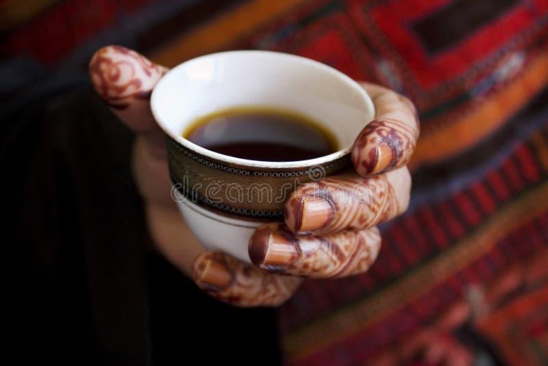Download Arabic hospitality stock image. Image of fingernail, style - 7325391
