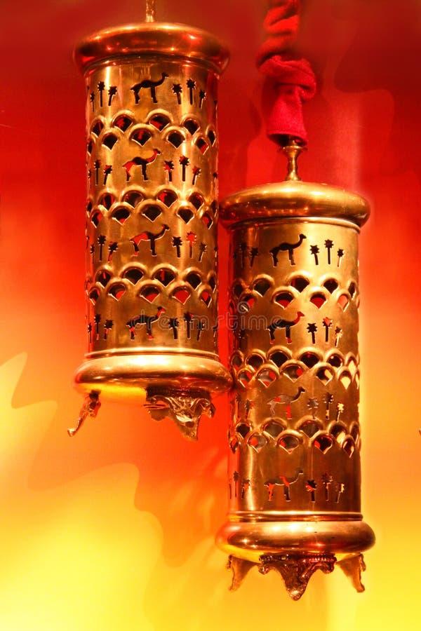 Arabic lamp royalty free stock photo