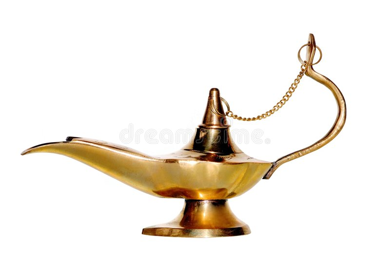 Arabic lamp royalty free stock image