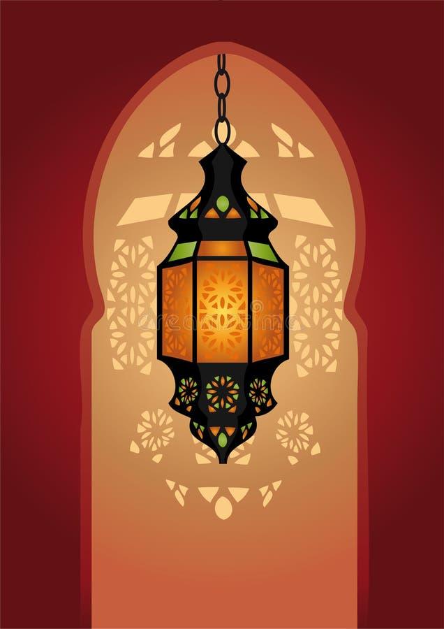 Arabic Lighting Lamp Stock Photos