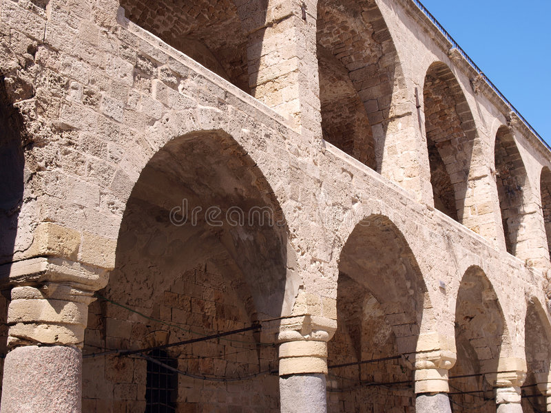 Arabic Mediterranean Style Arches Royalty Free Stock Image