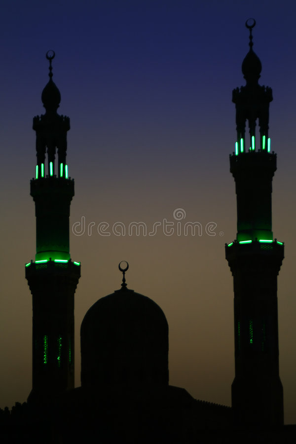 Arabic Night stock photography