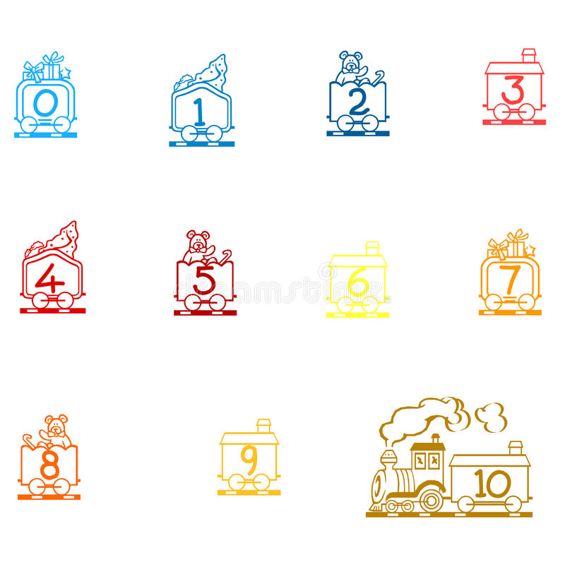 Arabic Numbers Arithmetic Operations And Currencies Symbols Stock