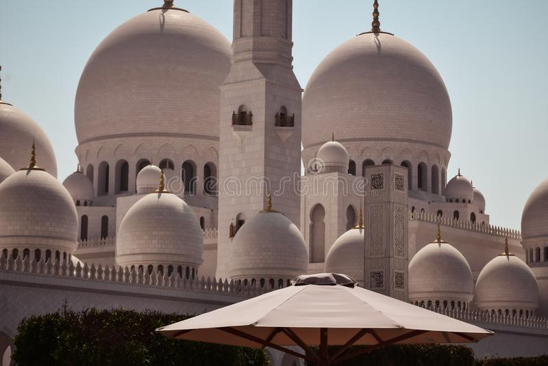 Arabic oriental islamic style geometric pattern architecture. royalty free stock photo