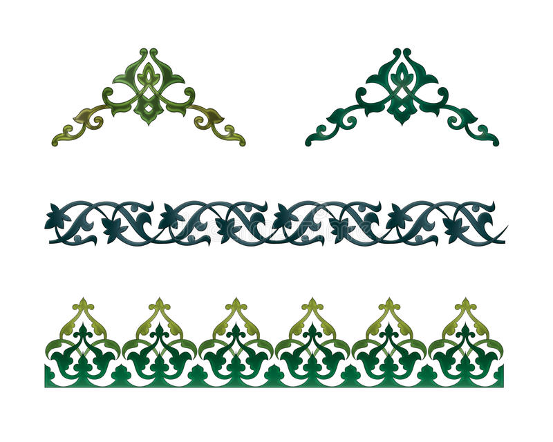 Arabic Ornament royalty free illustration