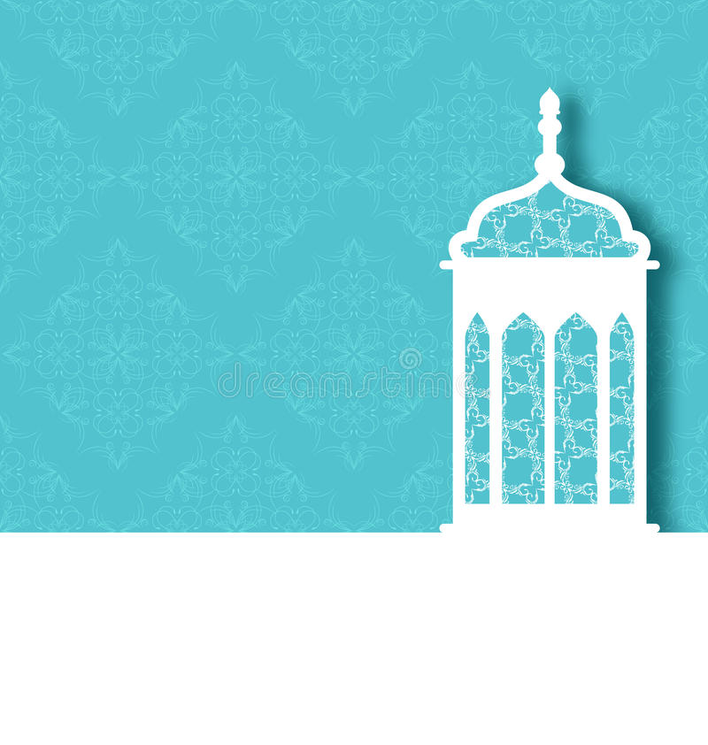 Free Arabic Ornamental Lamp For Ramadan Kareem Stock Photography - 41336192