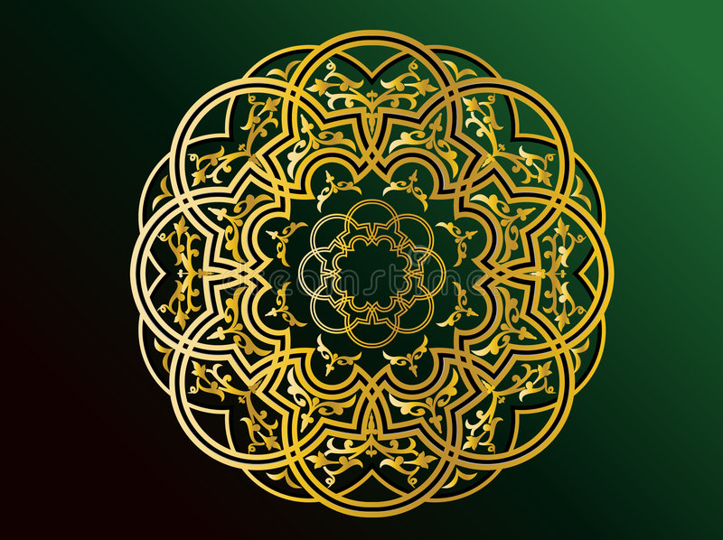 Arabic Ornaments vector illustration
