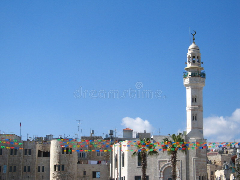 Download Arabic part in Bethlehem stock image. Image of islam, historical - 2035025