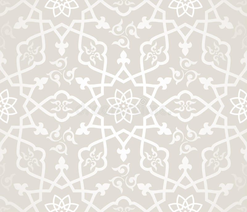 Arabic pattern royalty free illustration