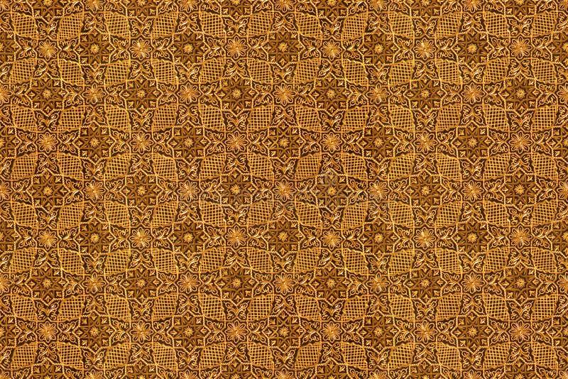 Arabic pattern seamless texture. Close-up photo royalty free stock photos
