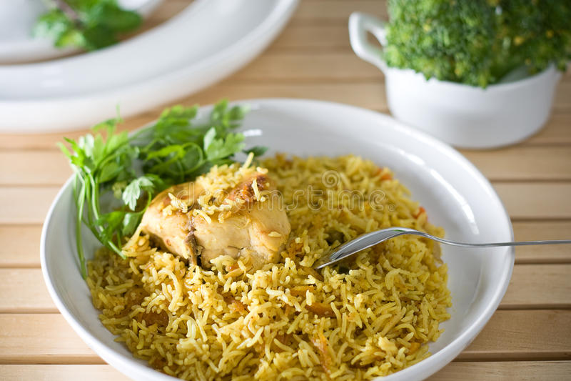 Arabic Rice stock photo