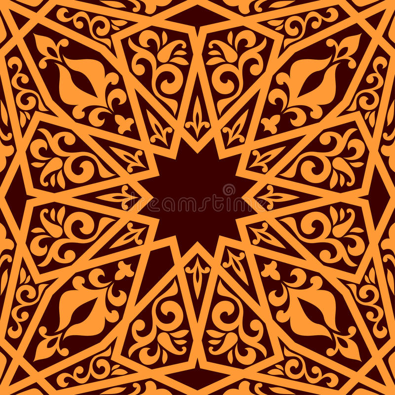 Book Cover Design Arabic ~ Arabic seamless pattern royalty free stock images image