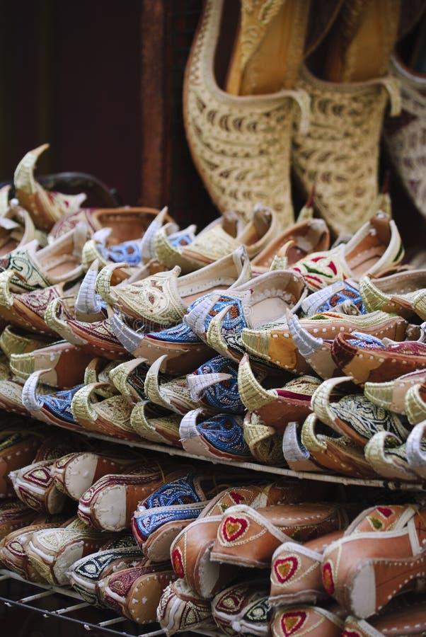 Arabic shoes stock photos