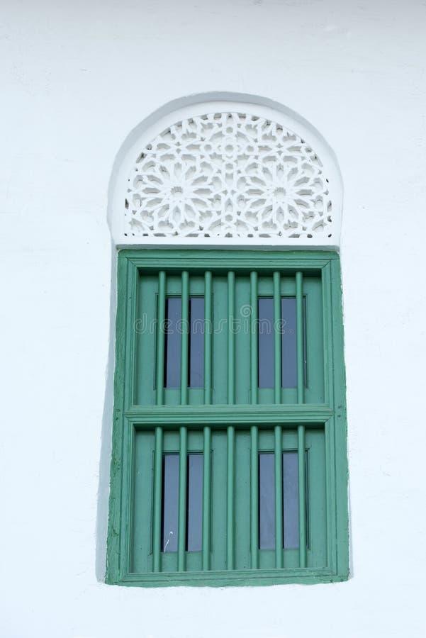 Arabic styled window stock photo
