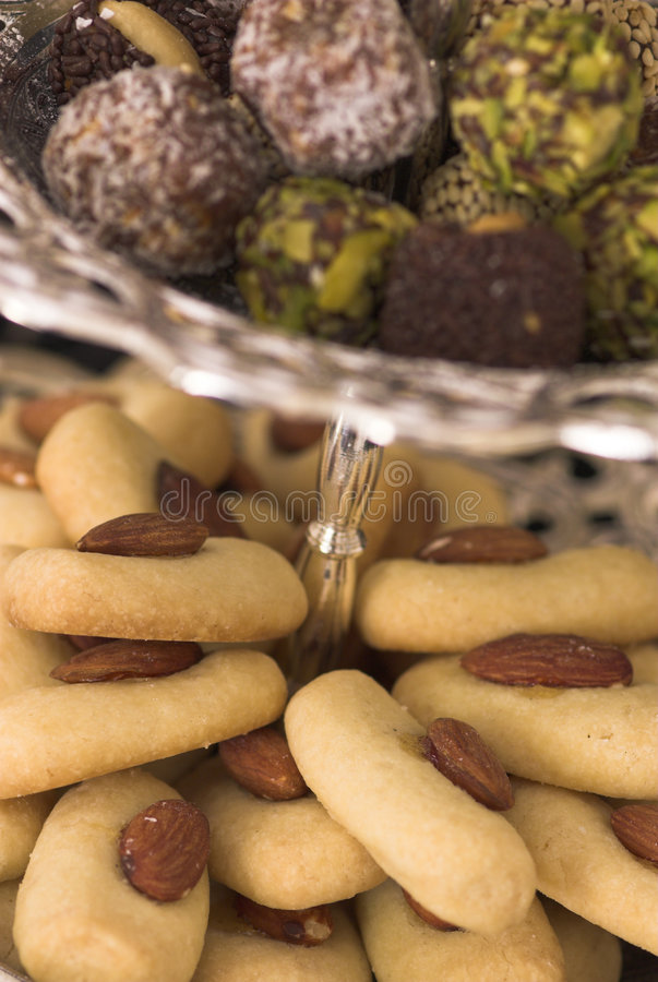 Arabic Sweets royalty free stock image
