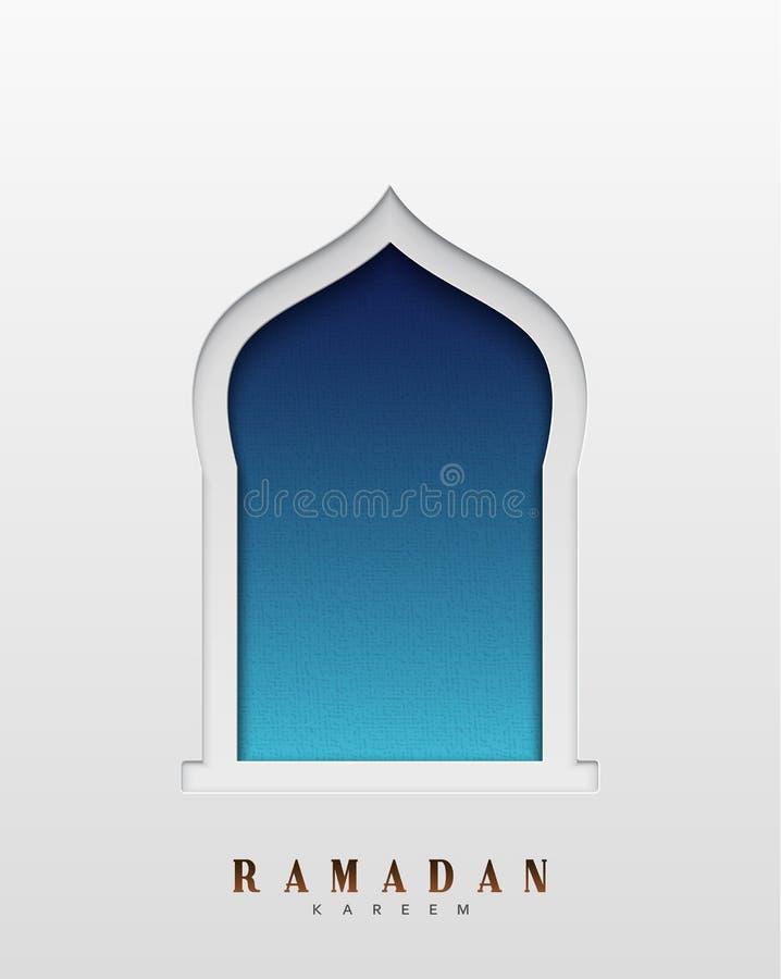 Arabic Window Design. Ramadan Kareem Greeting Card Stock ... on jerusalem window, jesus window, valentines day window, thank you window, fashion window, new year window,