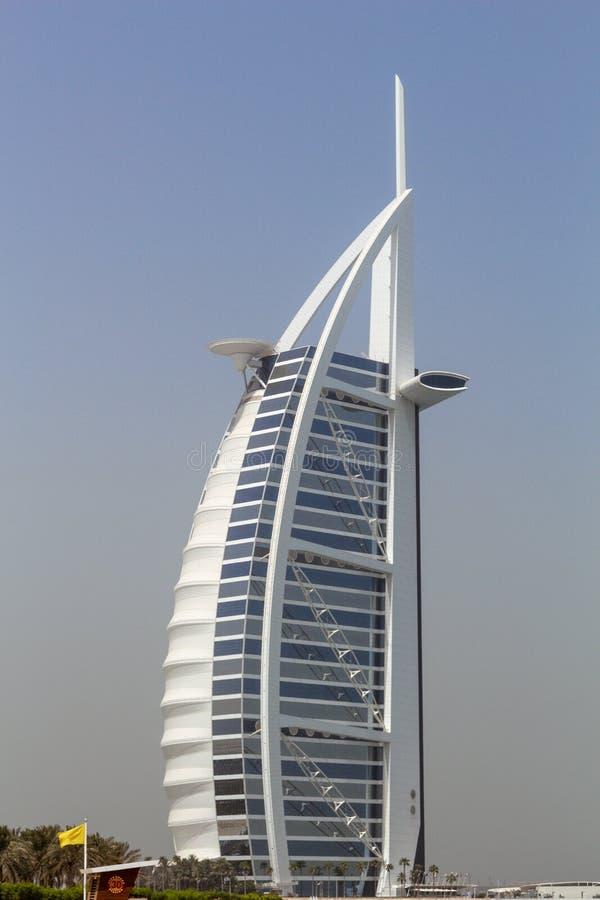 Arabisch Al van Burj, Doubai, de V stock afbeelding
