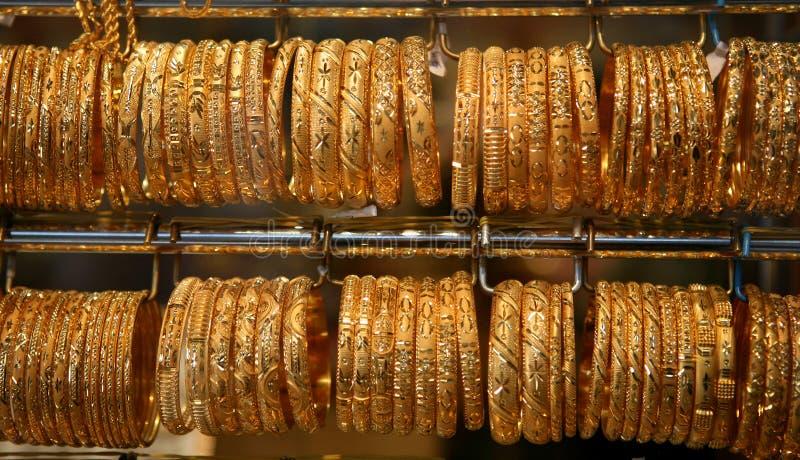 Arabisch goud stock afbeelding