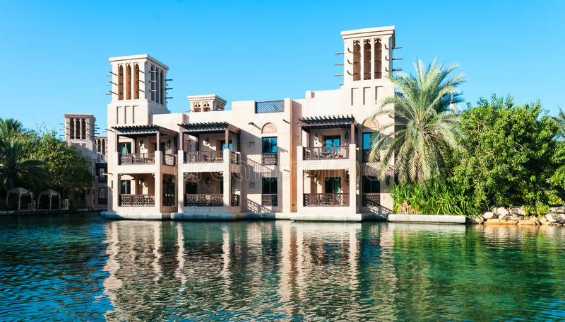 Arabisch Huis stock foto's
