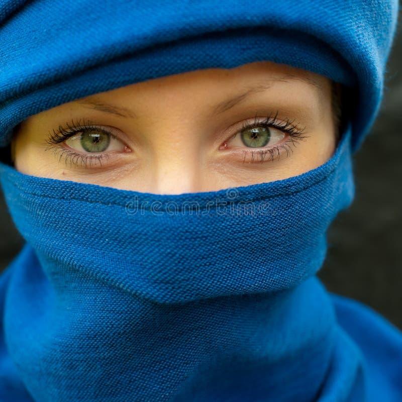 Arabisch meisje stock afbeeldingen