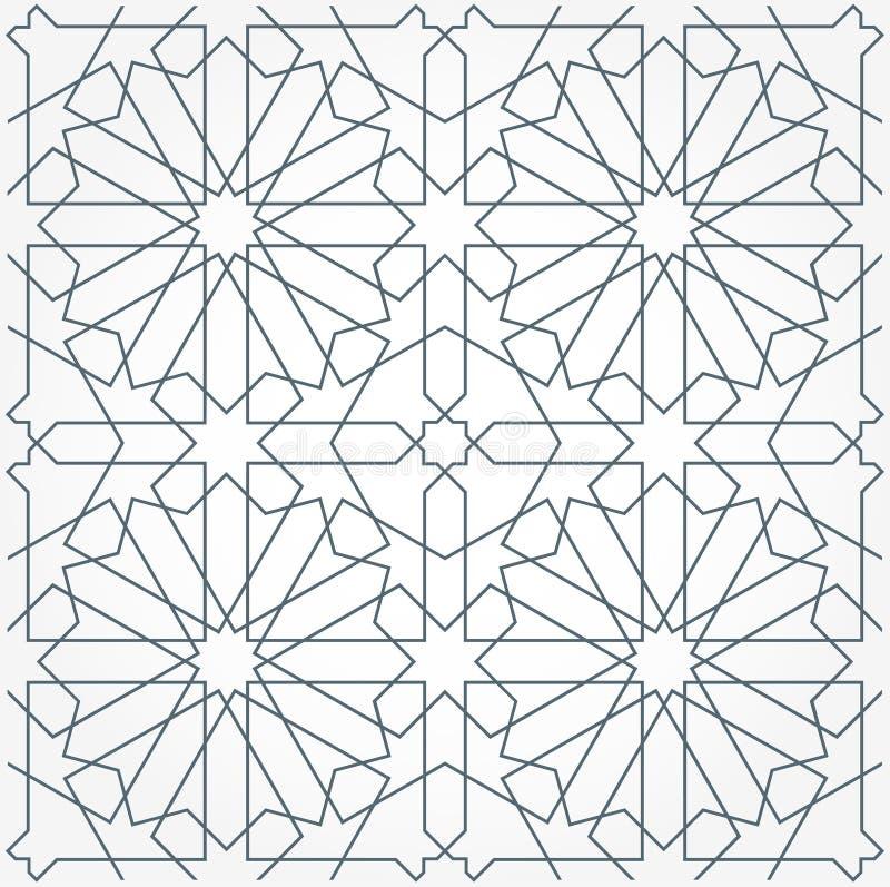 Arabisch naadloos ornament royalty-vrije illustratie