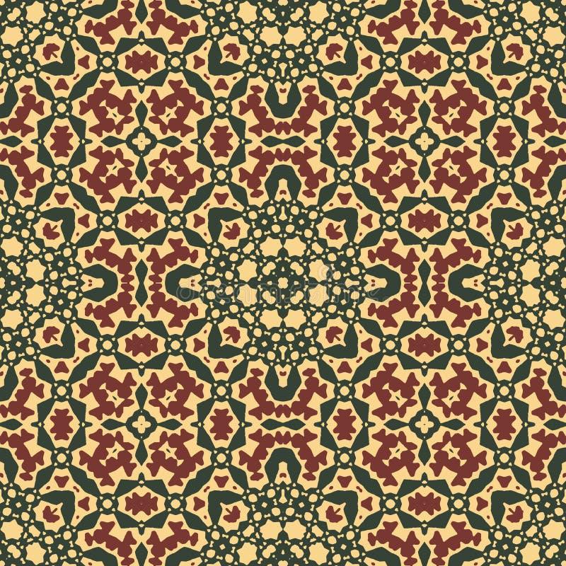 Arabisch ornament - naadloos patroon stock foto